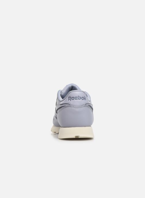 Baskets Reebok Classic Leather W Violet vue droite