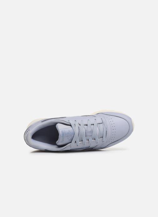 Sneakers Reebok Classic Leather W Viola immagine sinistra