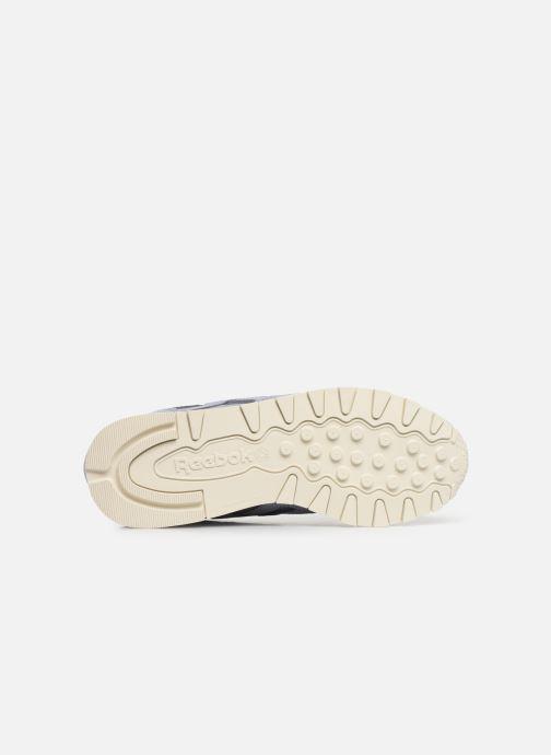 Sneakers Reebok Classic Leather W Viola immagine dall'alto