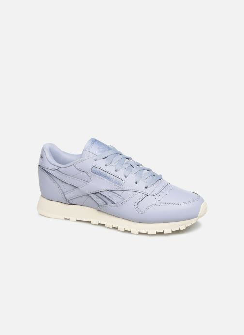 Baskets Reebok Classic Leather W Violet vue détail/paire