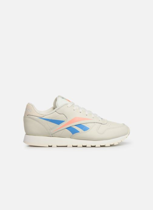 Baskets Reebok Classic Leather W Beige vue derrière