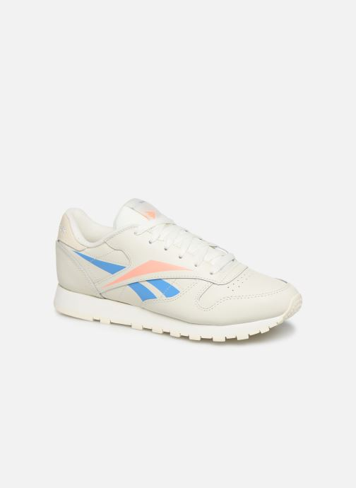 Baskets Reebok Classic Leather W Beige vue détail/paire