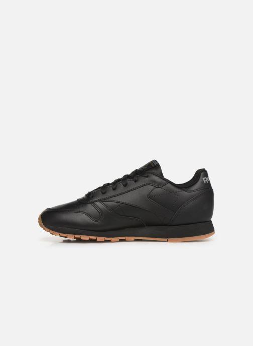 Sneaker Reebok Classic Leather W schwarz ansicht von vorne