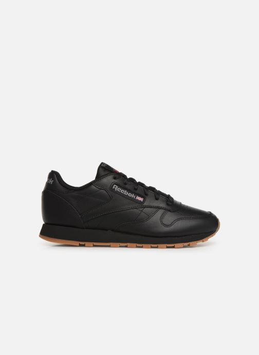Deportivas Reebok Classic Leather W Negro vistra trasera