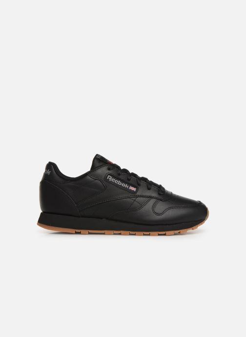 Sneaker Reebok Classic Leather W schwarz ansicht von hinten