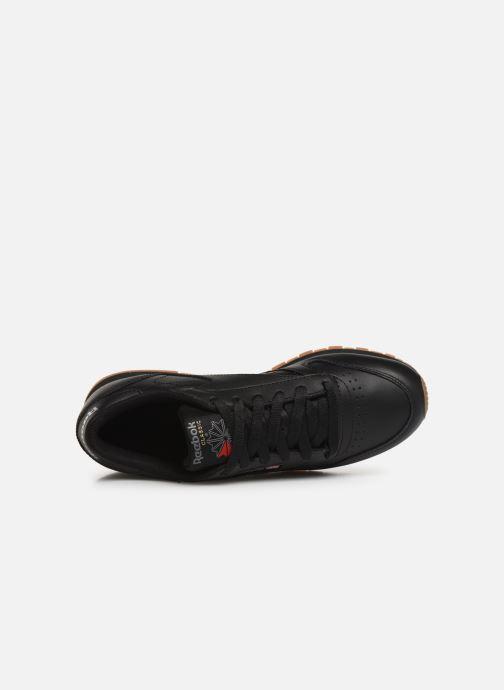 Sneaker Reebok Classic Leather W schwarz ansicht von links