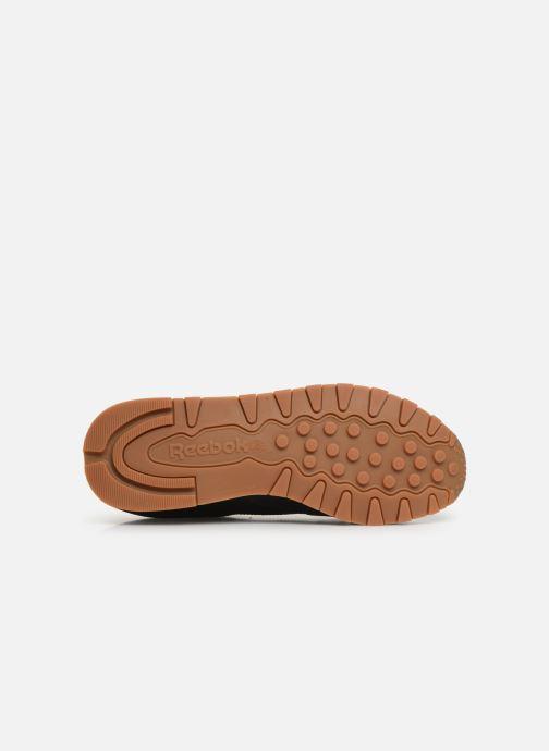 Sneaker Reebok Classic Leather W schwarz ansicht von oben