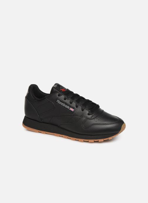 Sneaker Reebok Classic Leather W schwarz detaillierte ansicht/modell