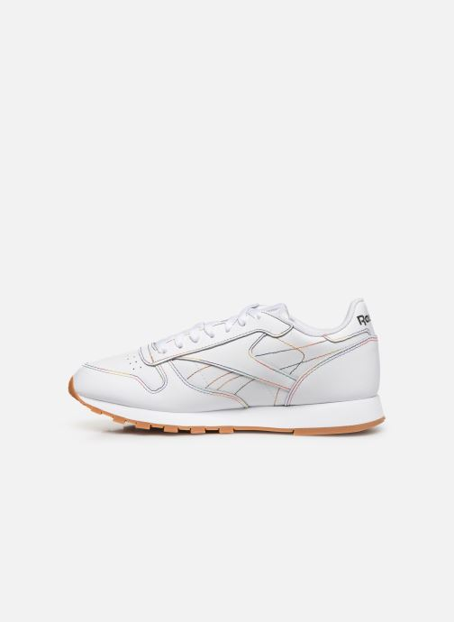 Sneaker Reebok Classic Leather W weiß ansicht von vorne