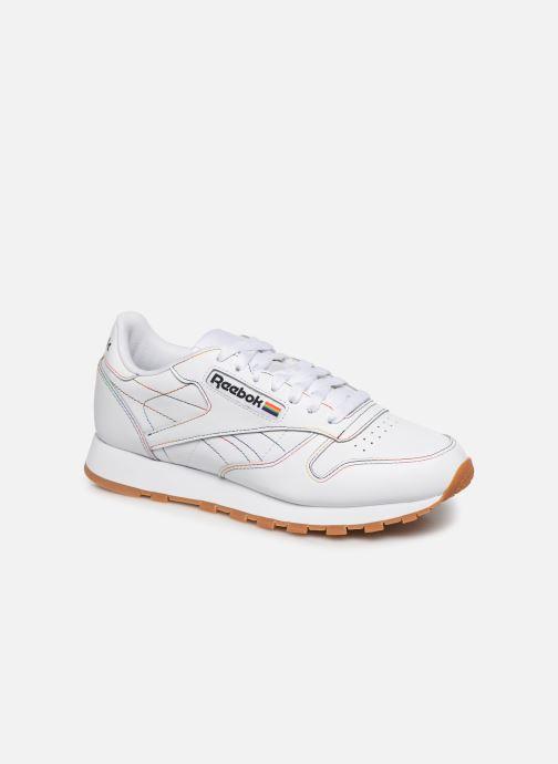Sneakers Reebok Classic Leather W Hvid detaljeret billede af skoene