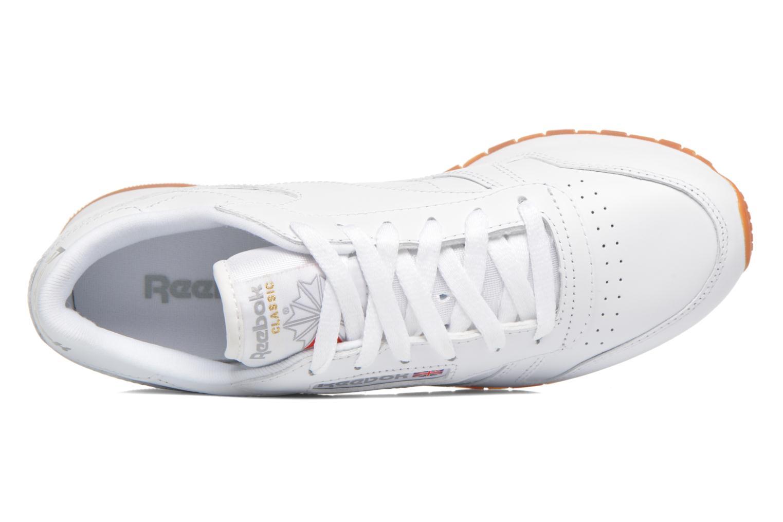 Classic Int Reebok gum W Leather white qdxw8HStw