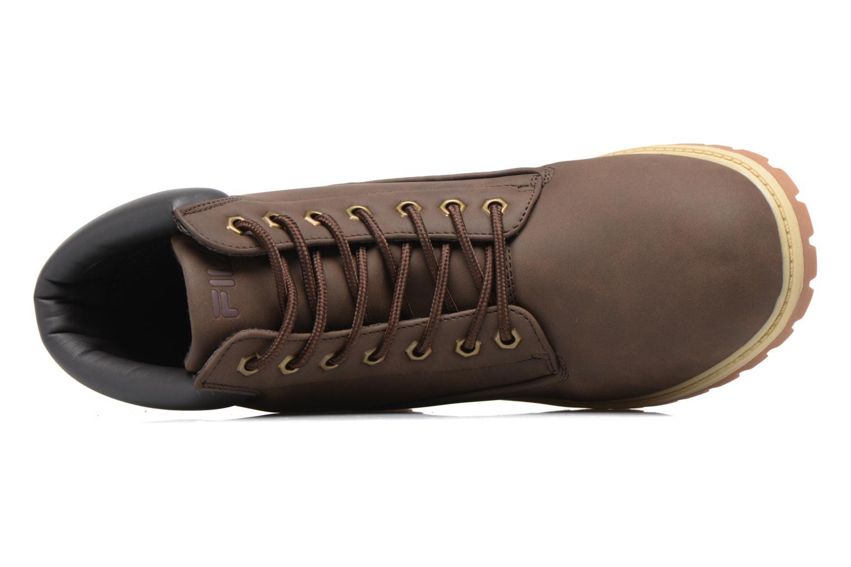 Bottines et boots FILA Maverick Mid Marron vue gauche
