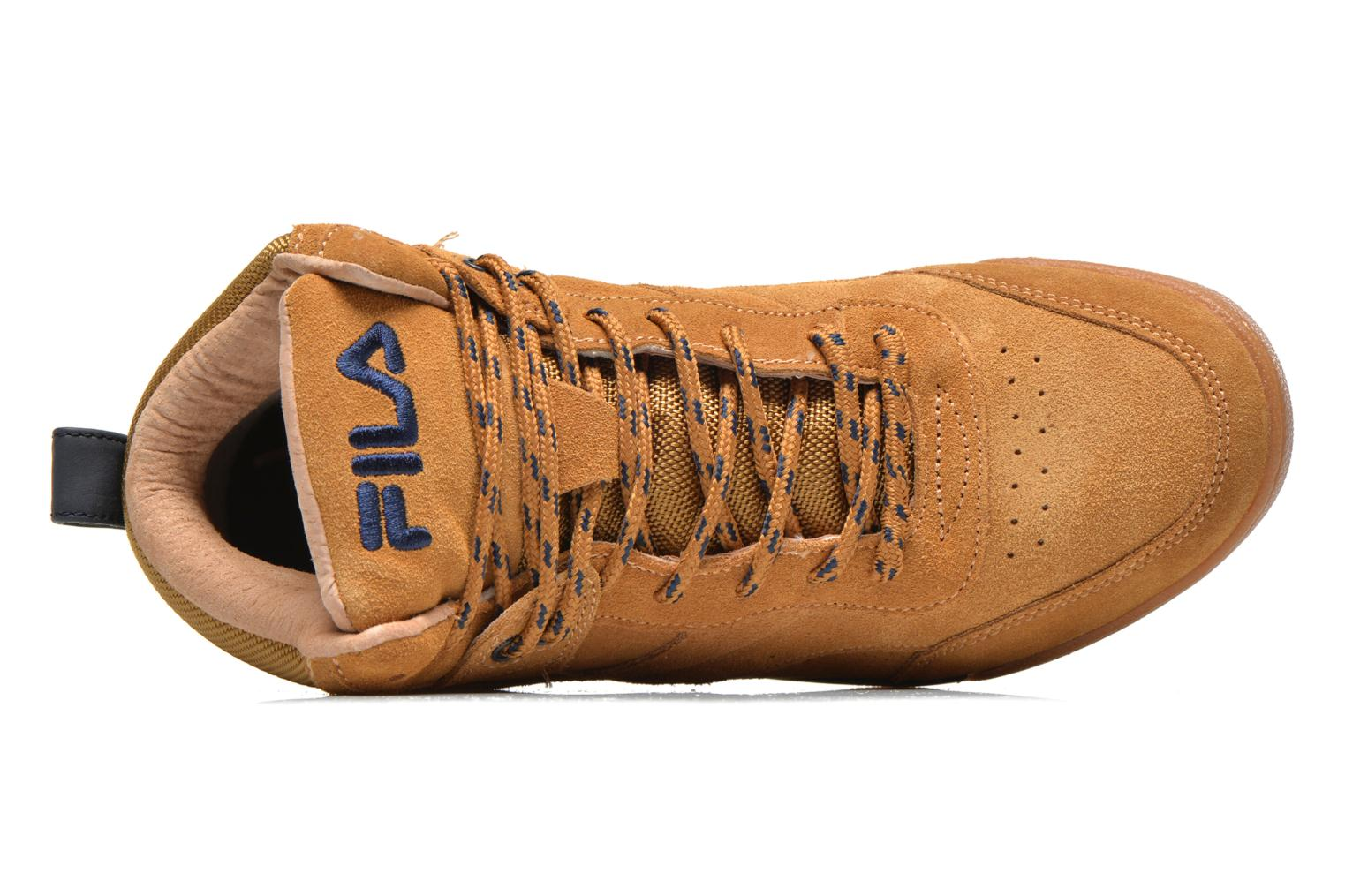 Trainers FILA Bounce Mid Adv W Brown view from the left