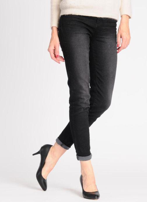 Escarpins I Love Shoes Kizup Noir vue bas / vue portée sac