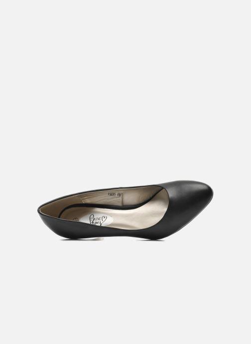 Escarpins I Love Shoes Kizup Noir vue gauche