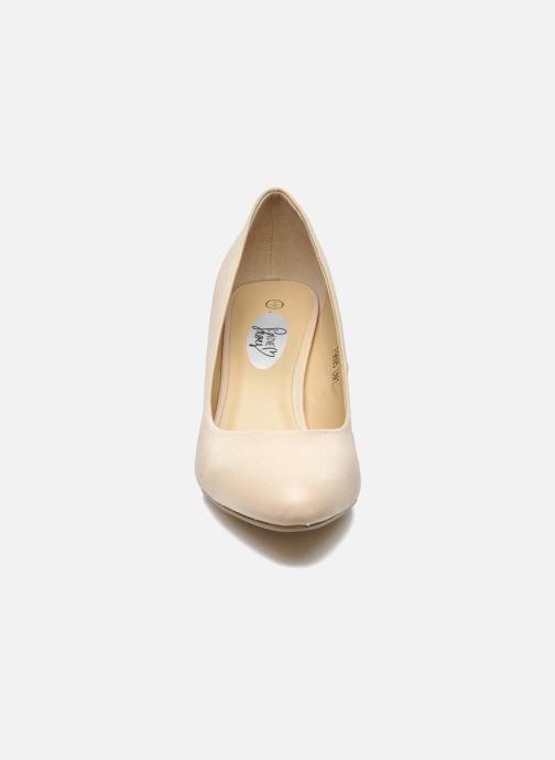 Escarpins I Love Shoes Kizup Beige vue portées chaussures