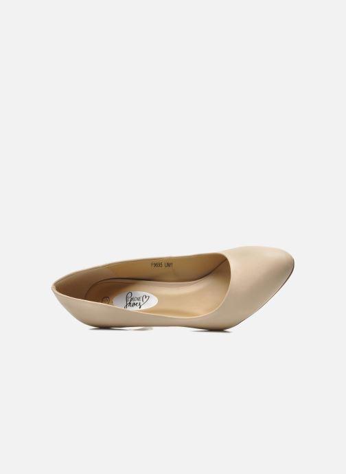 Escarpins I Love Shoes Kizup Beige vue gauche