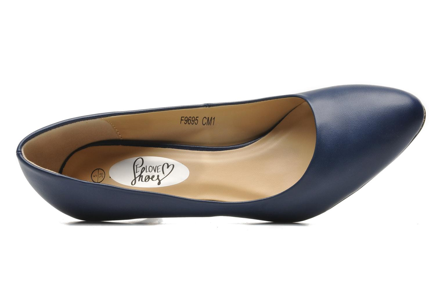 Escarpins I Love Shoes Kizup Bleu vue gauche