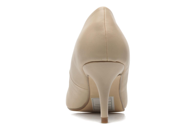 Høje hæle I Love Shoes Kizup Beige Se fra højre