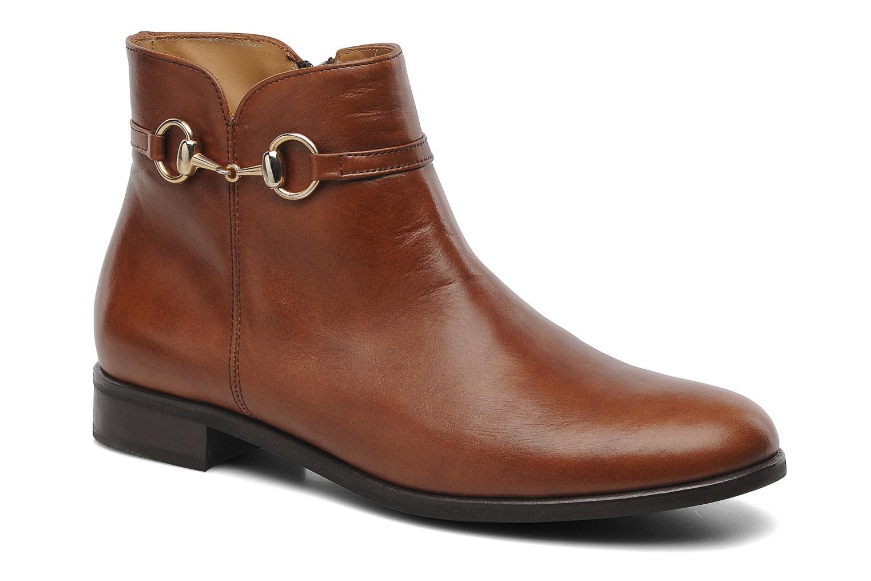 Bottines et boots Georgia Rose Amalgame Marron vue détail/paire