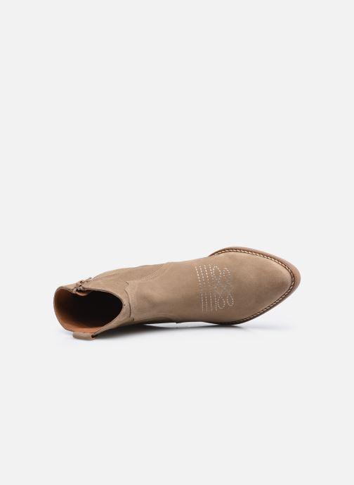 Bottines et boots Georgia Rose Ambre Beige vue gauche