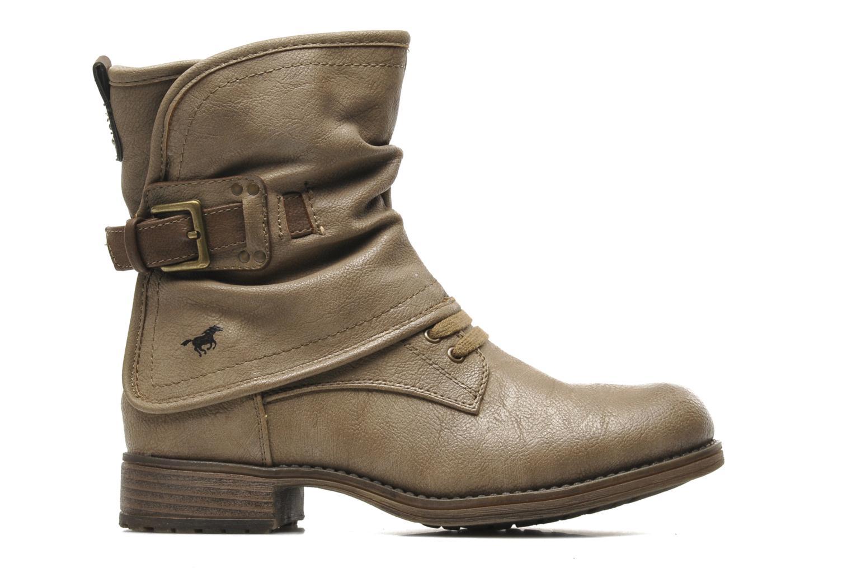 Bottines et boots Mustang shoes Masya Beige vue derrière