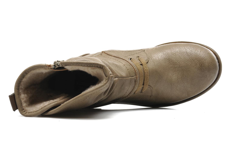Bottines et boots Mustang shoes Masya Beige vue gauche