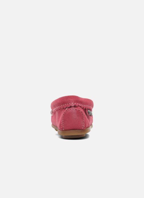 Mocassins Minnetonka Hello Kitty Moc Rose vue droite