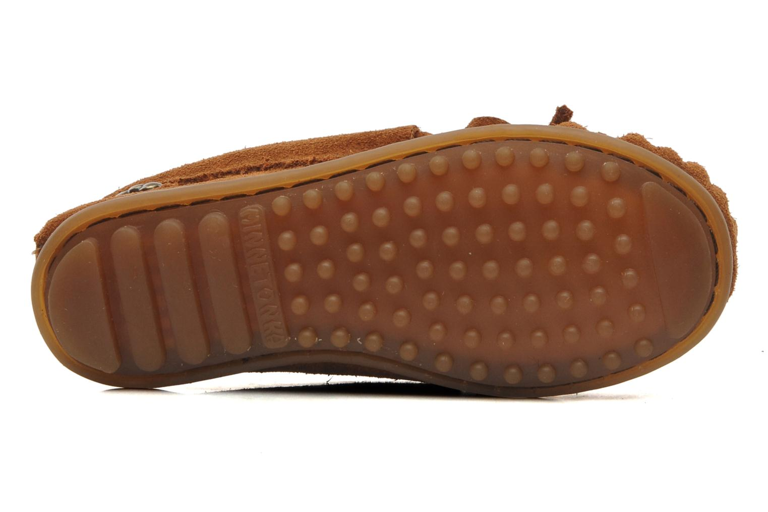 Loafers Minnetonka Hello Kitty Moc Brown view from above