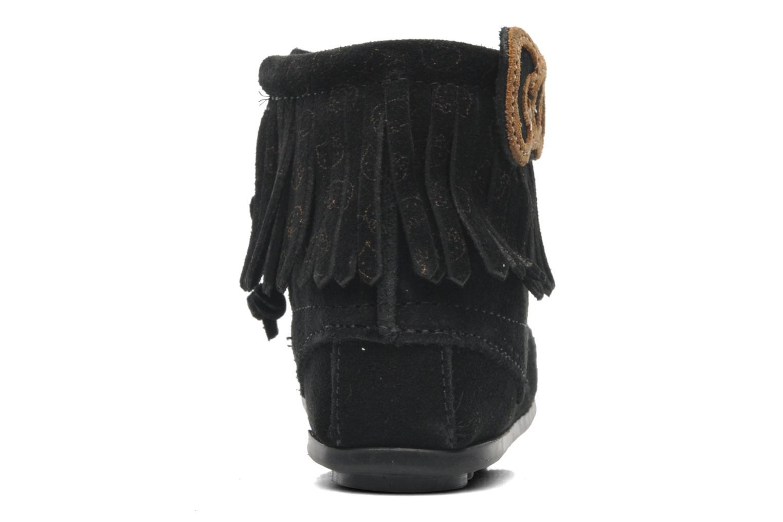 Stiefeletten & Boots Minnetonka Hello Kitty Fringe Bootie schwarz ansicht von rechts