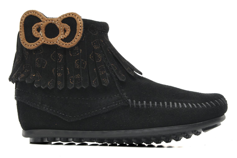 Stiefeletten & Boots Minnetonka Hello Kitty Fringe Bootie schwarz ansicht von hinten