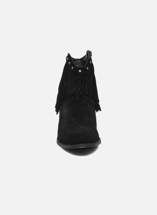 Botines  Minnetonka Bandera Boot Negro vista del modelo