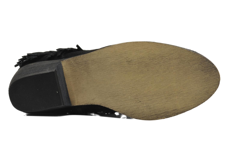 Bottines et boots Minnetonka Bandera Boot Noir vue haut