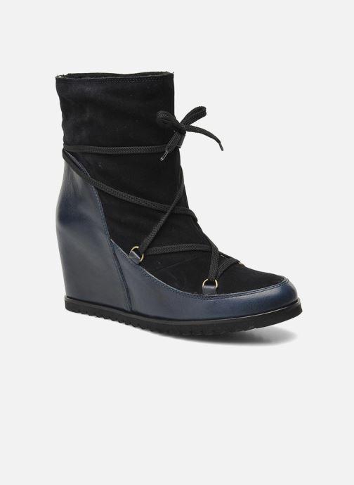Boots en enkellaarsjes Fabio Rusconi Bertie Blauw detail