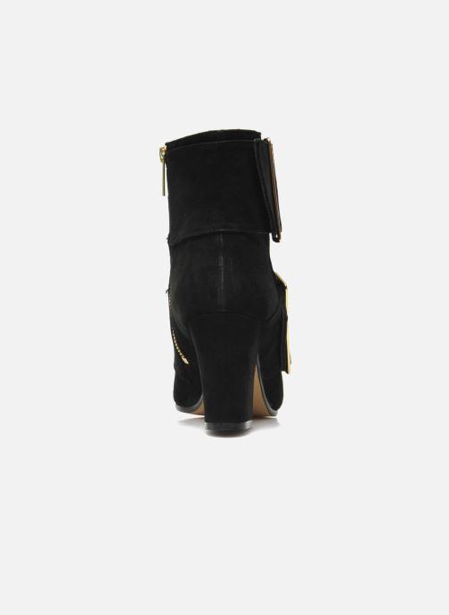 Boots Avril Gau Calor Svart Bild från höger sidan