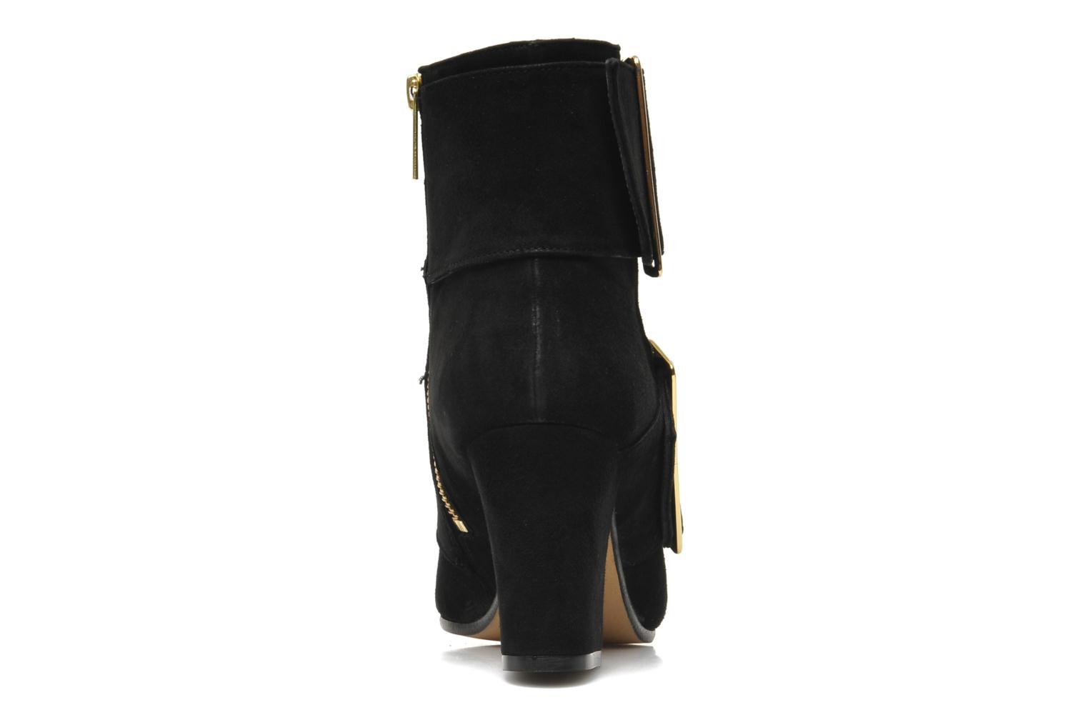 Ankle boots Avril Gau Calor Black view from the right