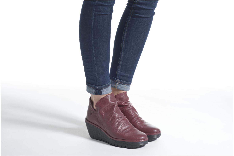 Bottines et boots Fly London Yip Noir vue bas / vue portée sac