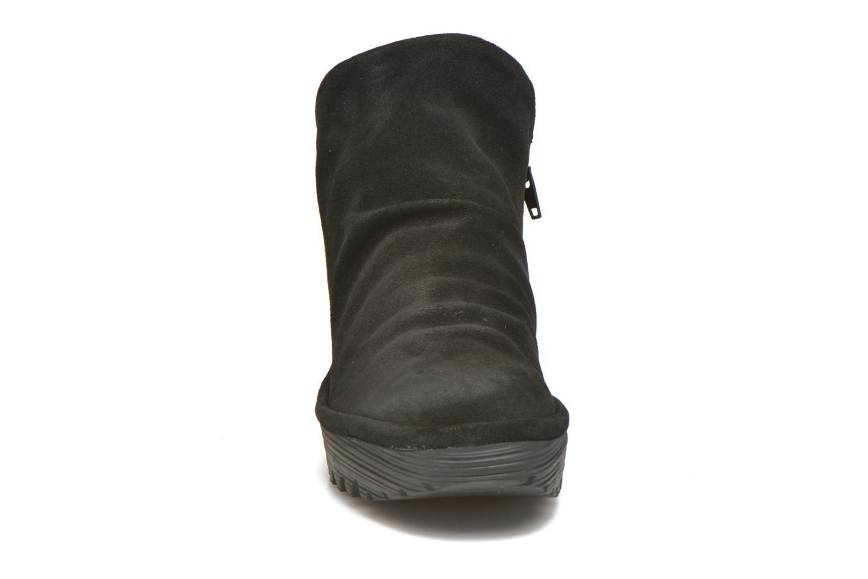 Bottines et boots Fly London Yip Noir vue portées chaussures