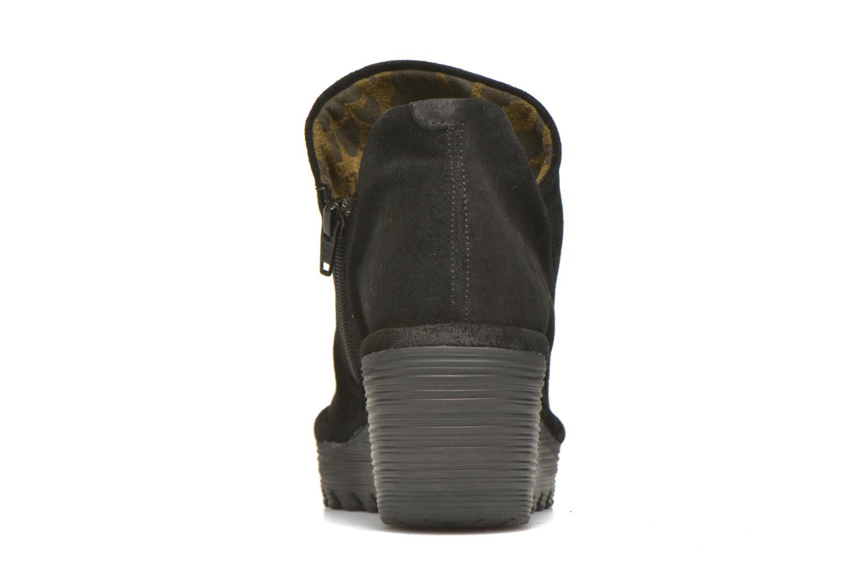 Bottines et boots Fly London Yip Noir vue droite