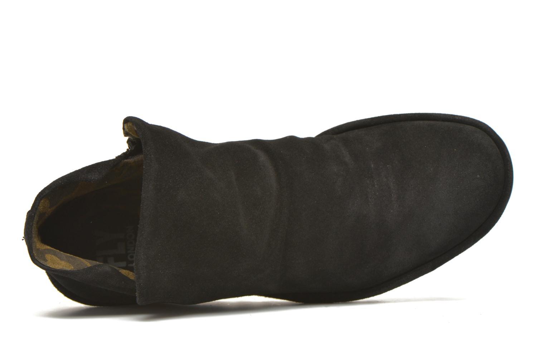 Bottines et boots Fly London Yip Noir vue gauche