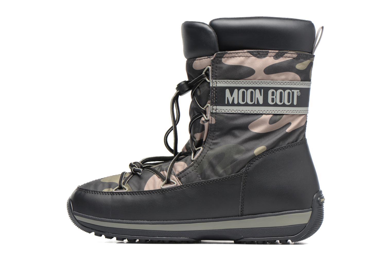Chaussures de sport Moon Boot Lem Military Noir vue face