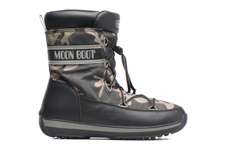 Chaussures de sport Moon Boot Lem Military Noir vue derrière
