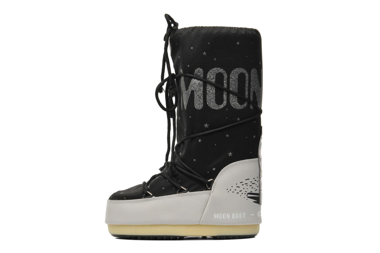 Bottes Moon Boot Space Noir vue face