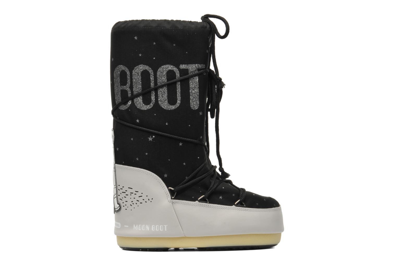 Bottes Moon Boot Space Noir vue derrière