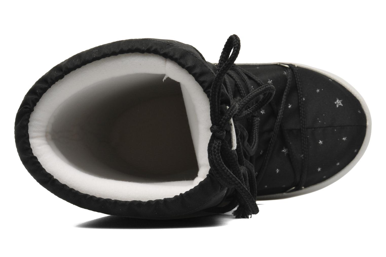 Bottes Moon Boot Space Noir vue gauche
