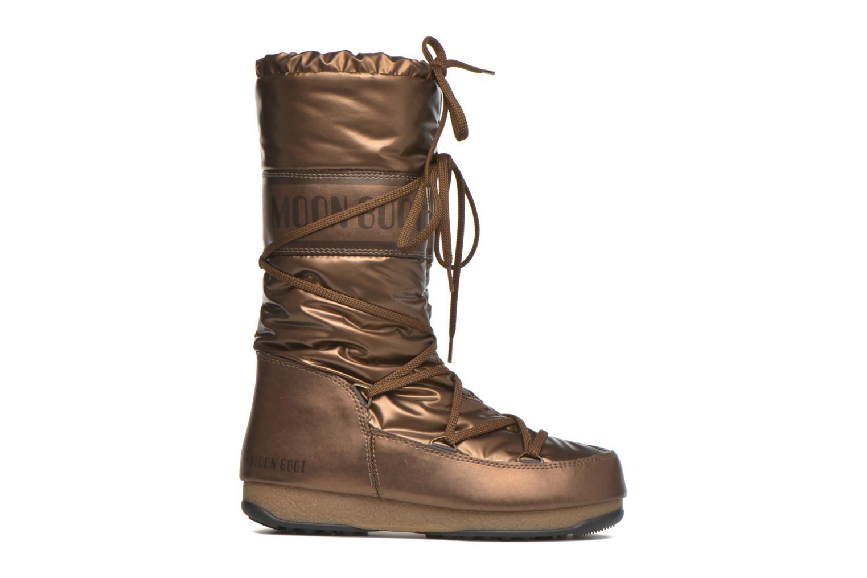 Bottes Moon Boot Soft Met Or et bronze vue derrière