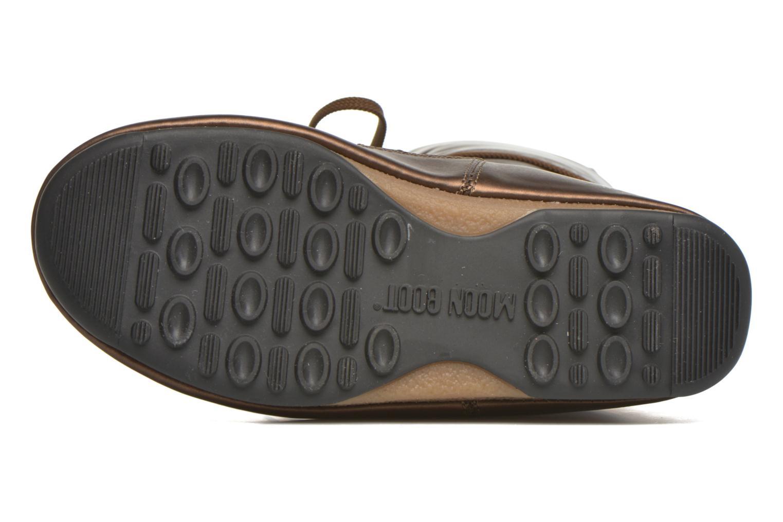 Bottes Moon Boot Soft Met Or et bronze vue haut