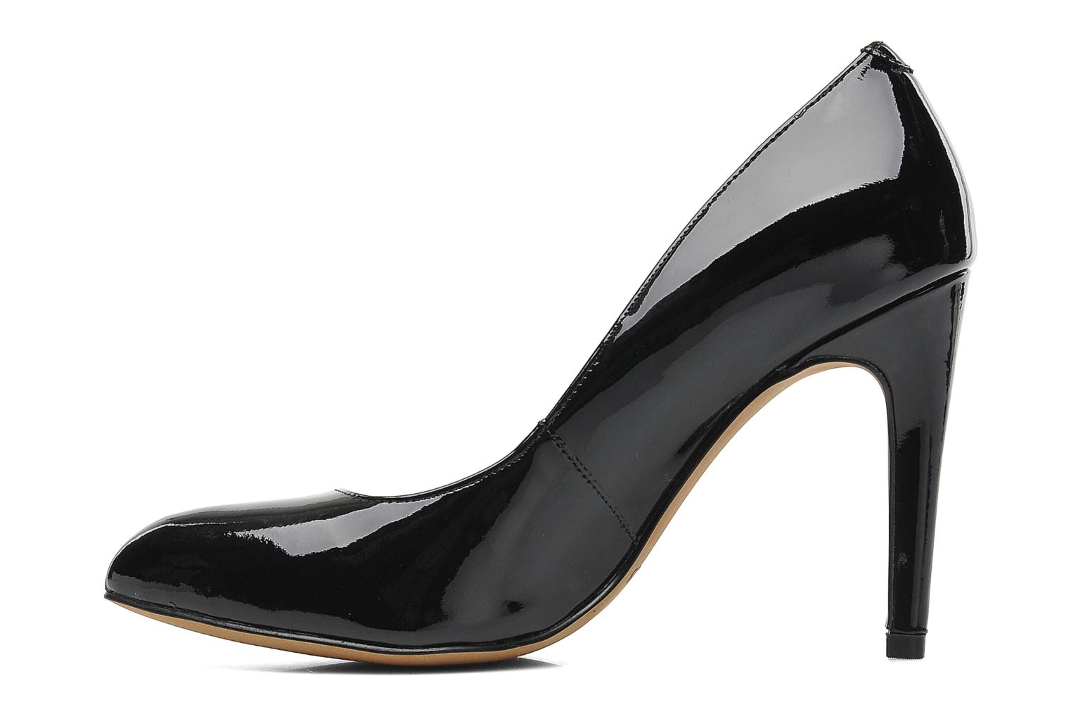 High heels Clarks Always Chic Black front view
