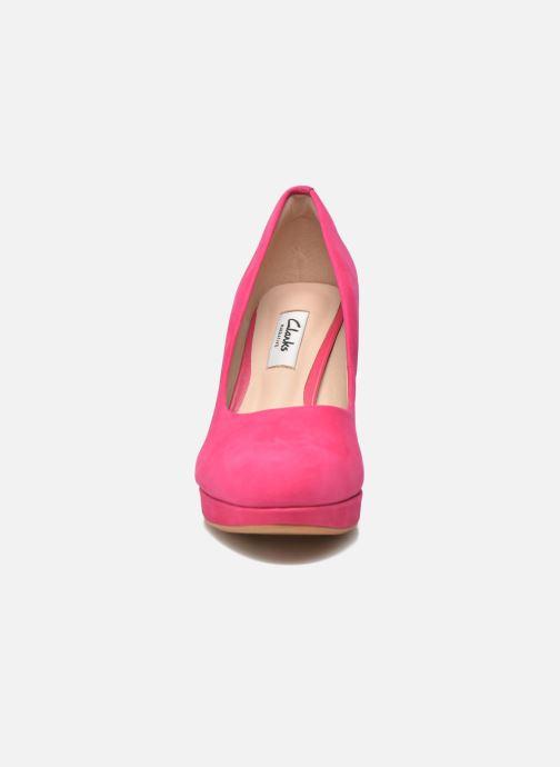 Escarpins Clarks Crisp Kendra Rose vue portées chaussures