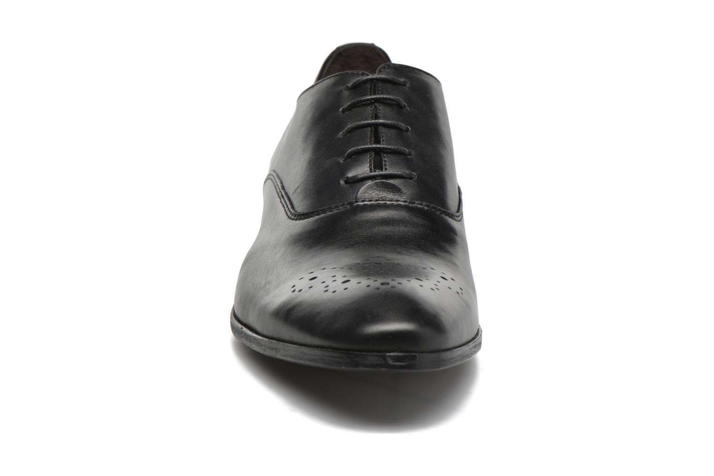 Schnürschuhe Marvin&Co Narvie schwarz schuhe getragen